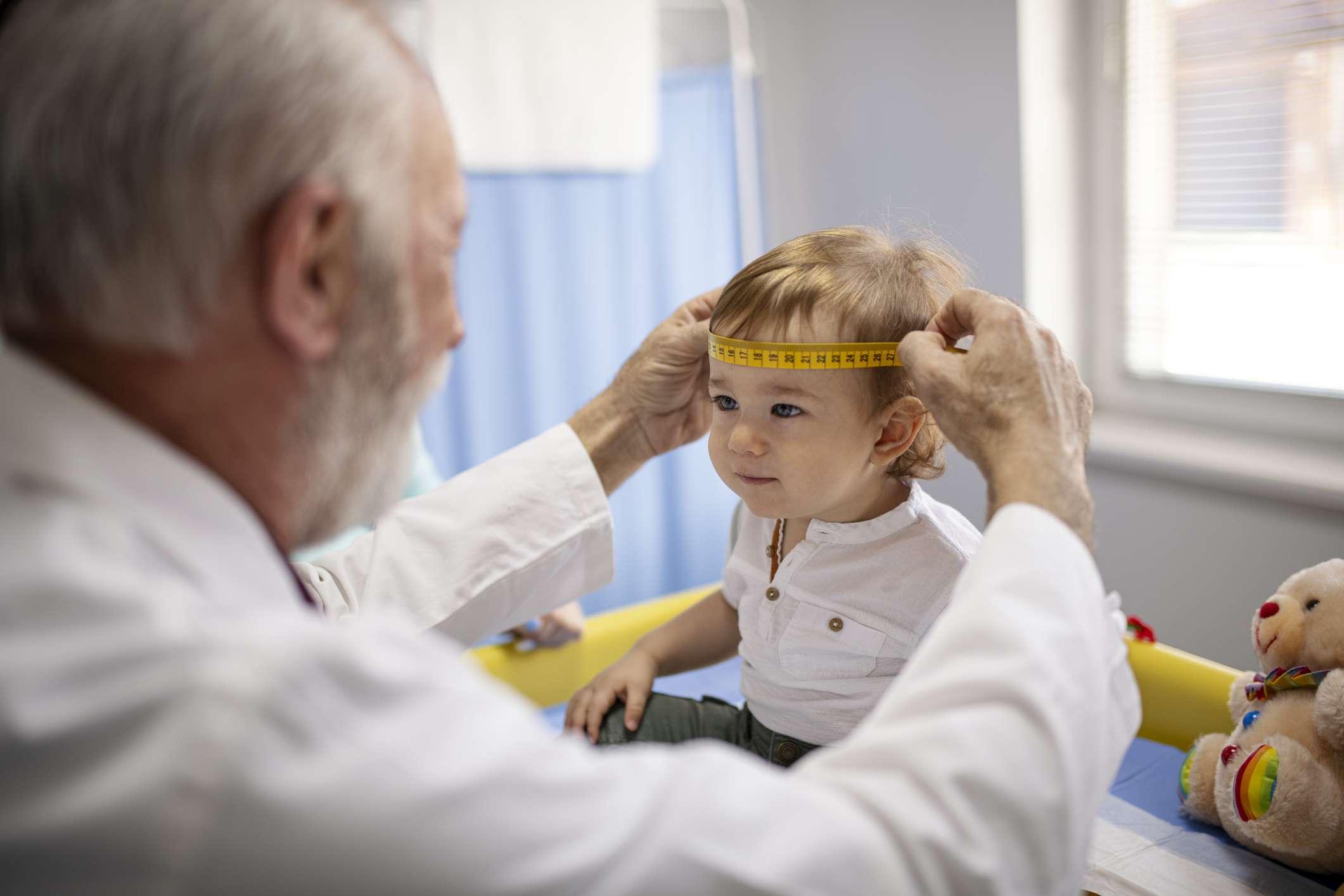Measuring a Baby's Head