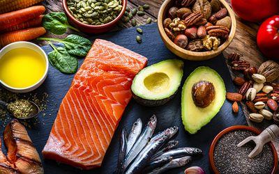Mediterrean diet platter