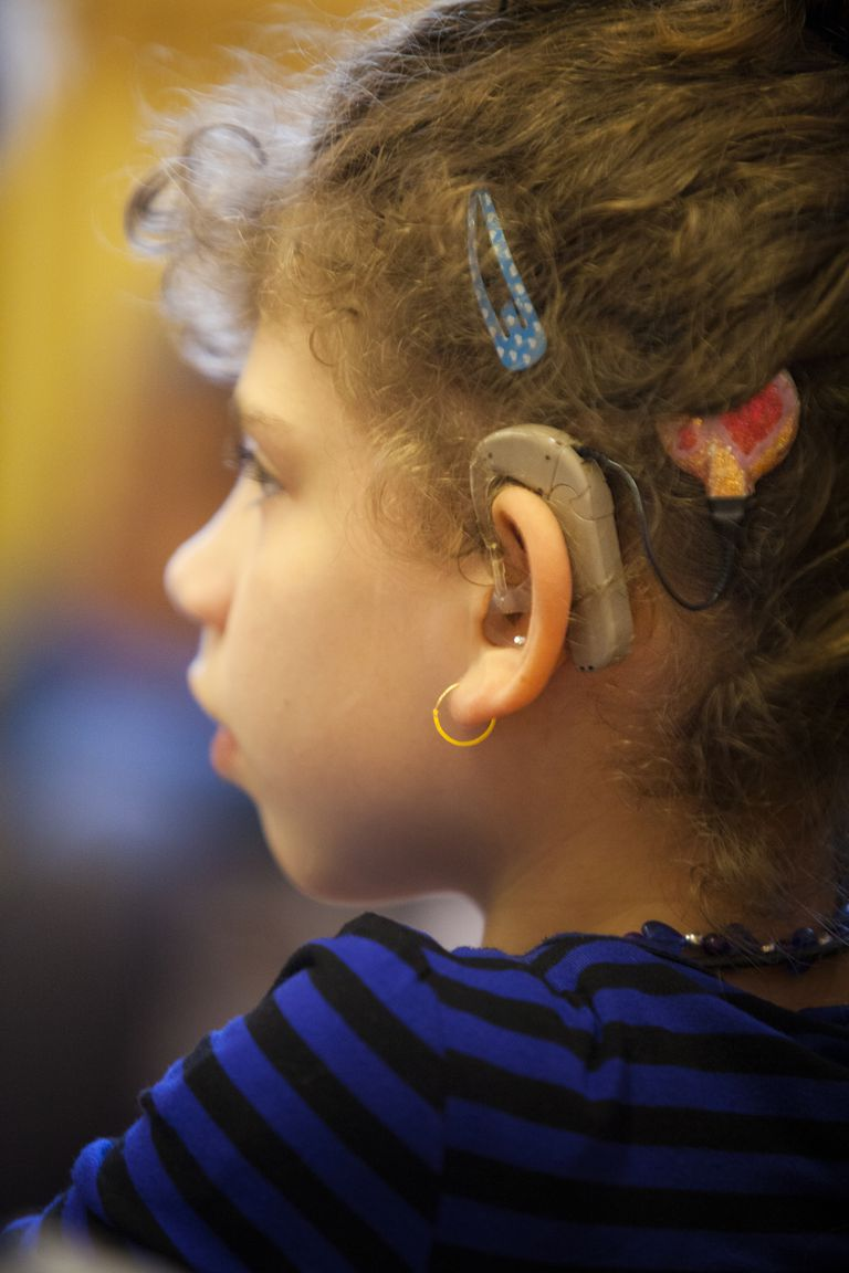 Hearing-impaired child