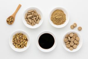 Licorice root capsules, powder, tincture, tea, and chewable tablets