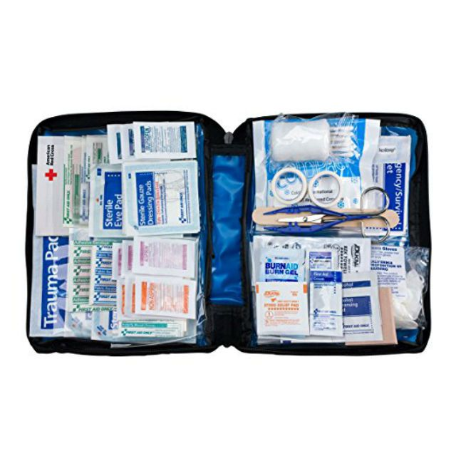 First Aid Only All-purpose First Aid Kit, Soft Case with Zipper, 299-Piece Kit, Large, Color Varies