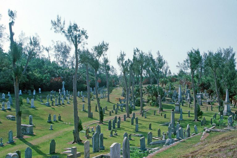 Royal Naval Cemetery In Bermuda