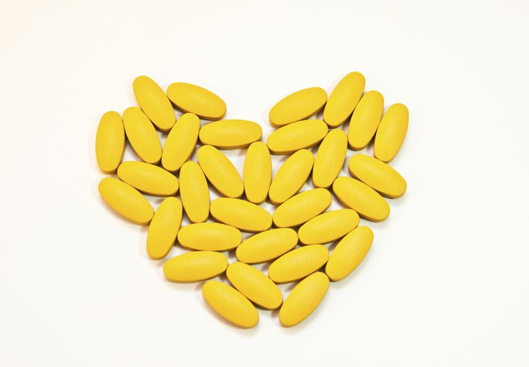 supplements in the shape of a heart