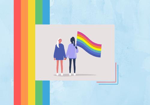 Pride month illustration.