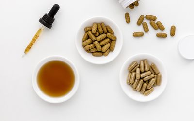 Andrographis tincture, capsules, and tablets