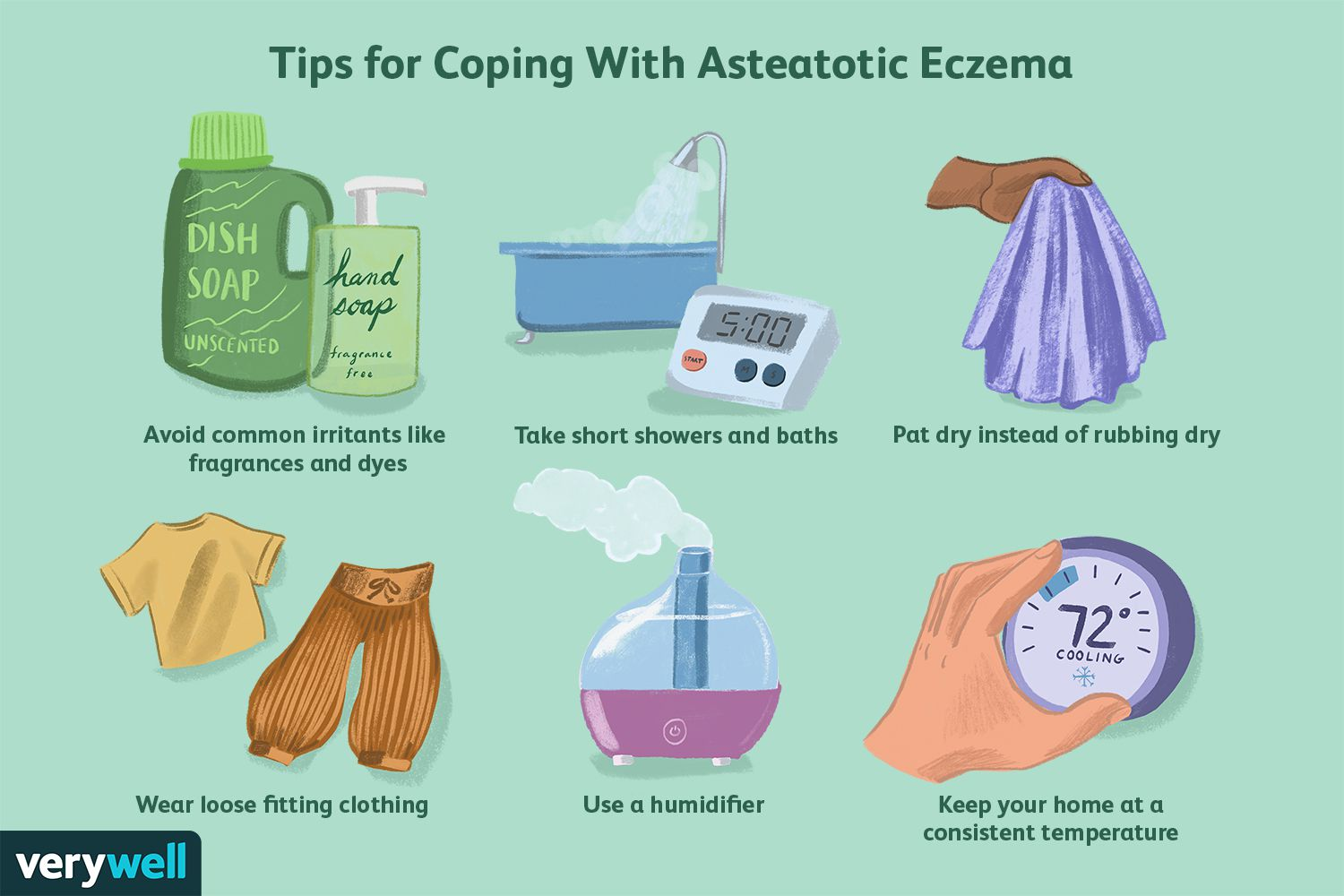 Tips for Coping With Asteatotic Eczema