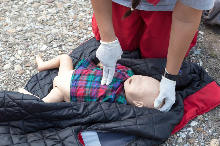 Training for infants who need CPR