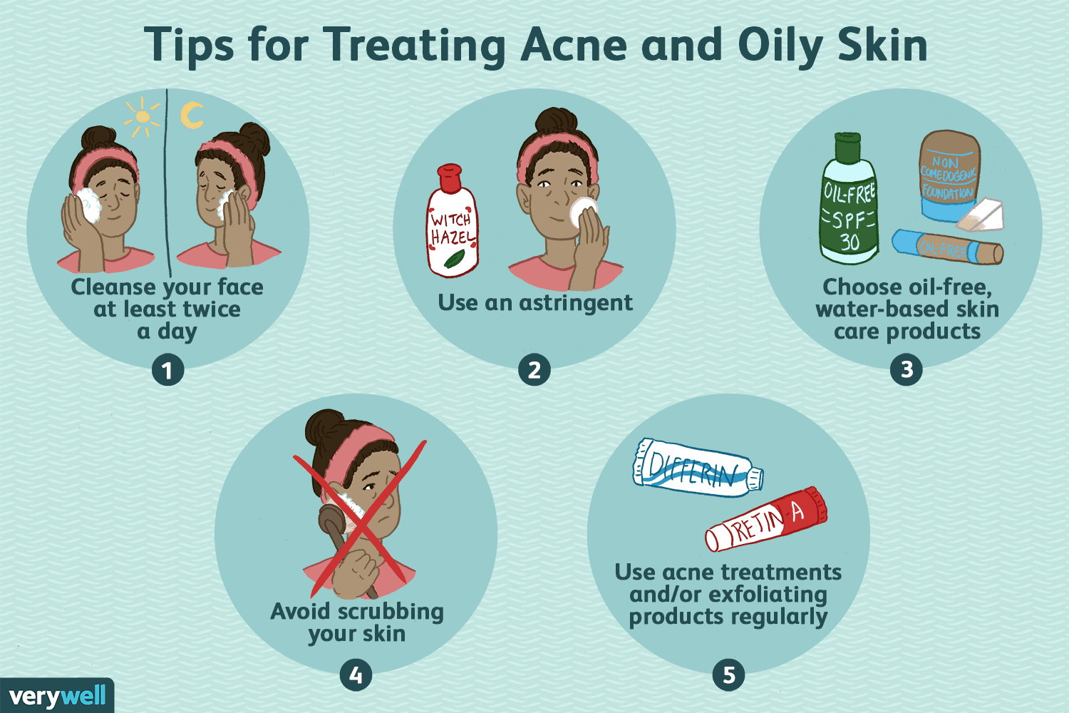 Treatment Tips For Oily Skin And Acne