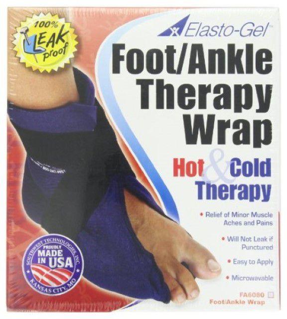 Elasto-Gel foot or ankle gel wrap