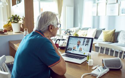 Telehealth: Receiving Care for Your Parkinson's Disease at Home