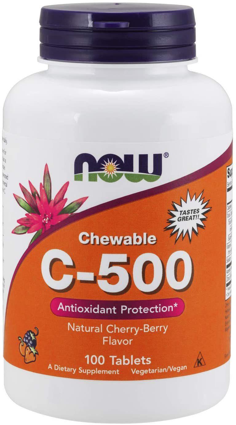 NOW Chewable Vitamin C-500