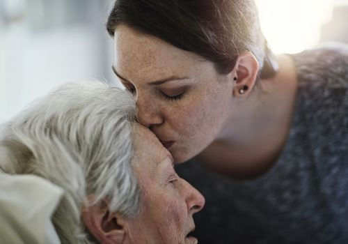 Caring for a dying loved one