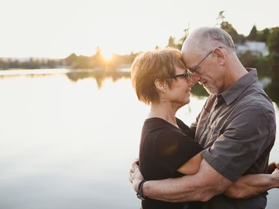 couple supporting each other