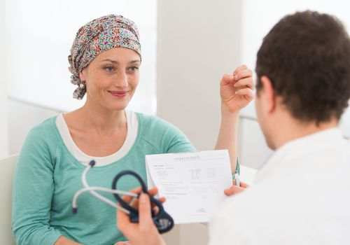 Woman with Triple Negative Breast Cancer