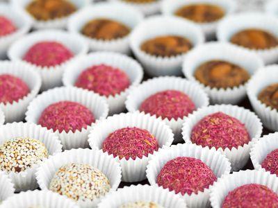 Sugar-free vegan candies