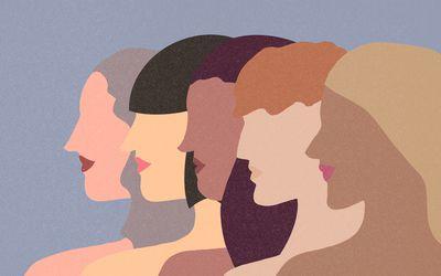 Women illustration.