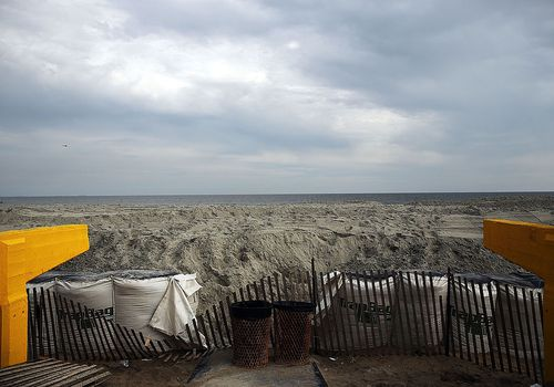Restoration Continues At NYC's Rockaway Beach 10 Months After Hurricane Sandy