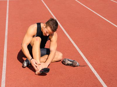 A runner with chronic foot pain