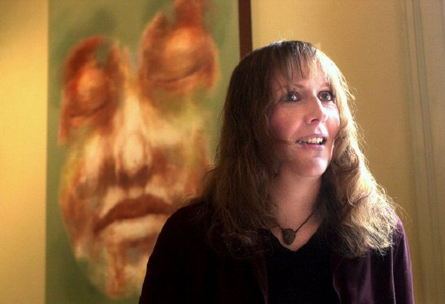 Portland artist, Rachael Eastman, talks about the irony of contracting Bell's Palsy while preparing 'visages' a show of her paintings of faces