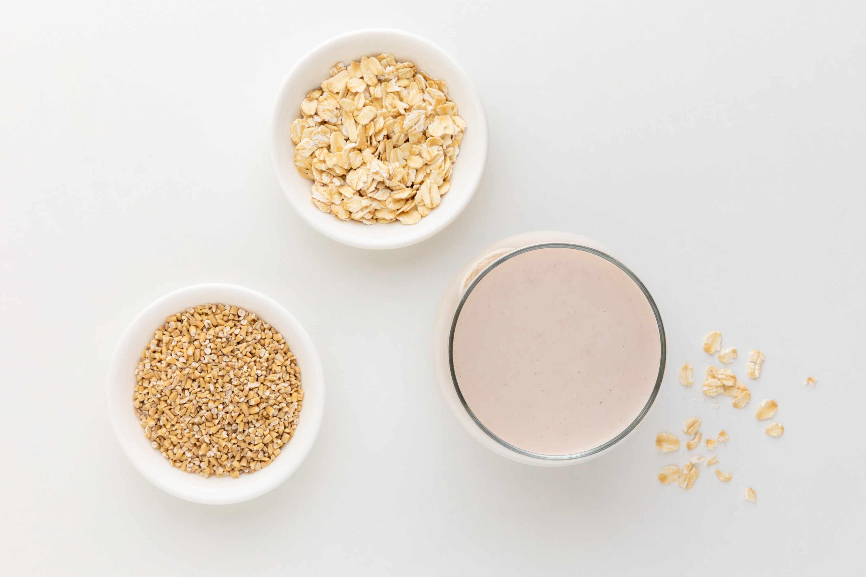 Oats, oat milk, oat bran