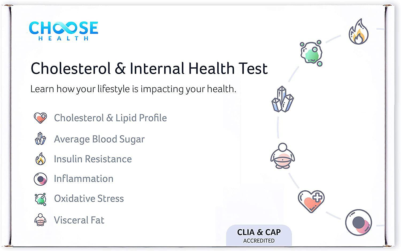 Choose Health Cholesterol & Internal Health test