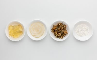 Arnica oil, cream, powder, and dried herb