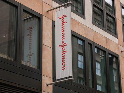 Johnson and Johnson storefront.