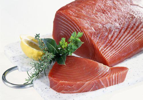 Loin of Tuna and Tuna Steak