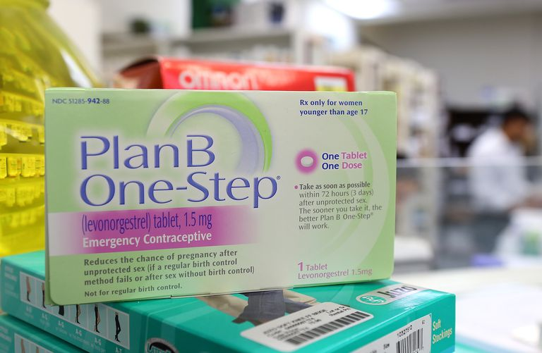 Plan B on a store shelf