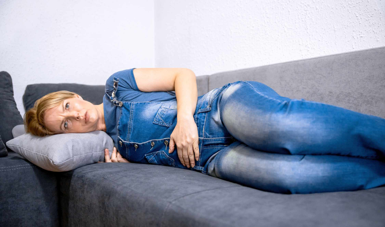 Having symptoms after menopause
