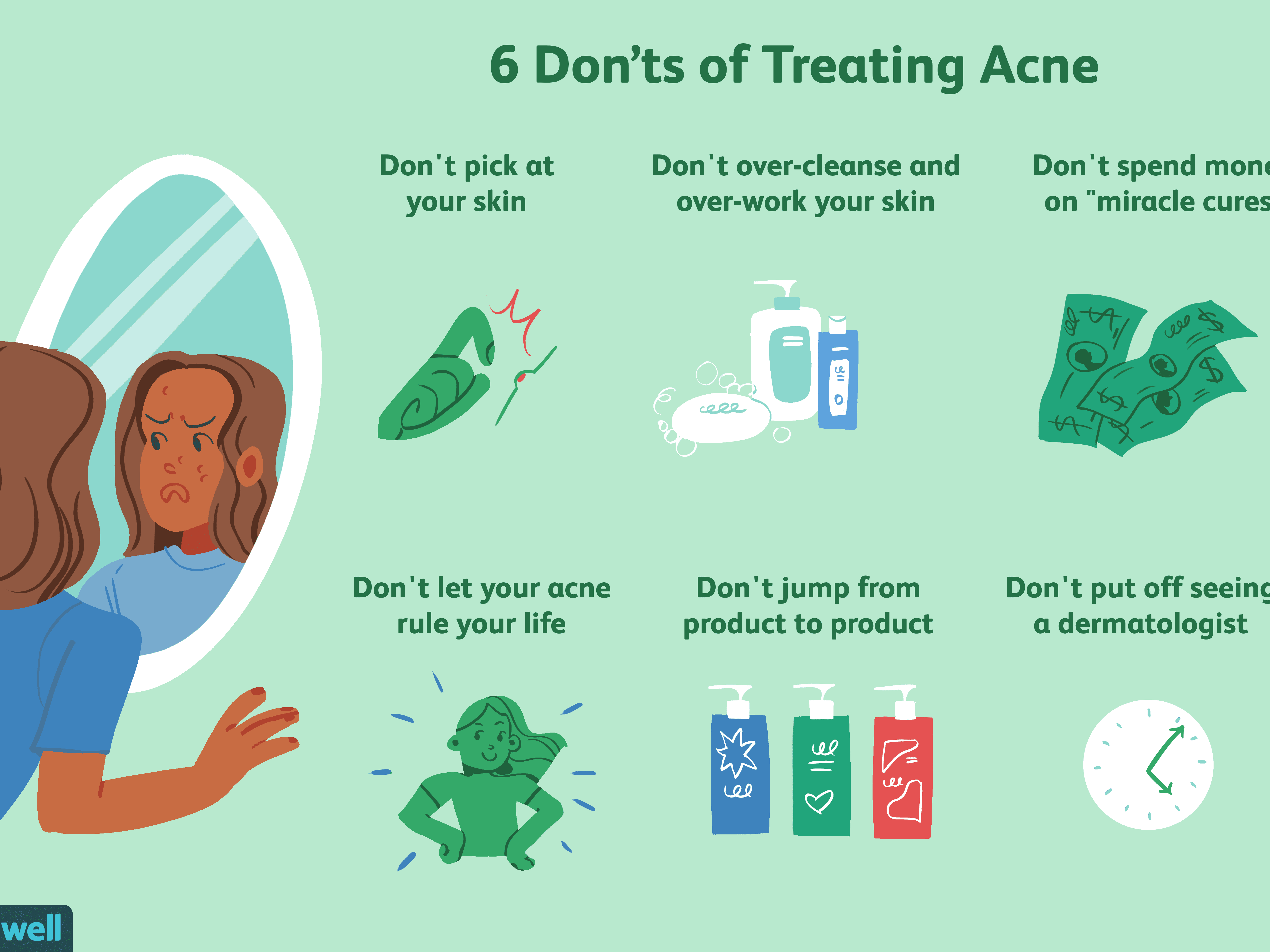 10 Things To Stop Doing When You Have Acne
