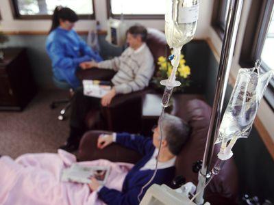 Intravenous cancer treatment
