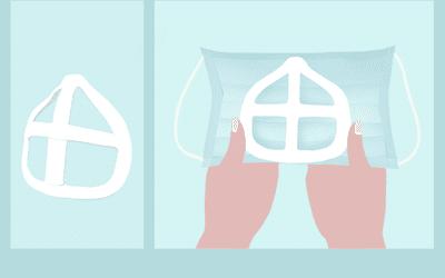face mask bracket