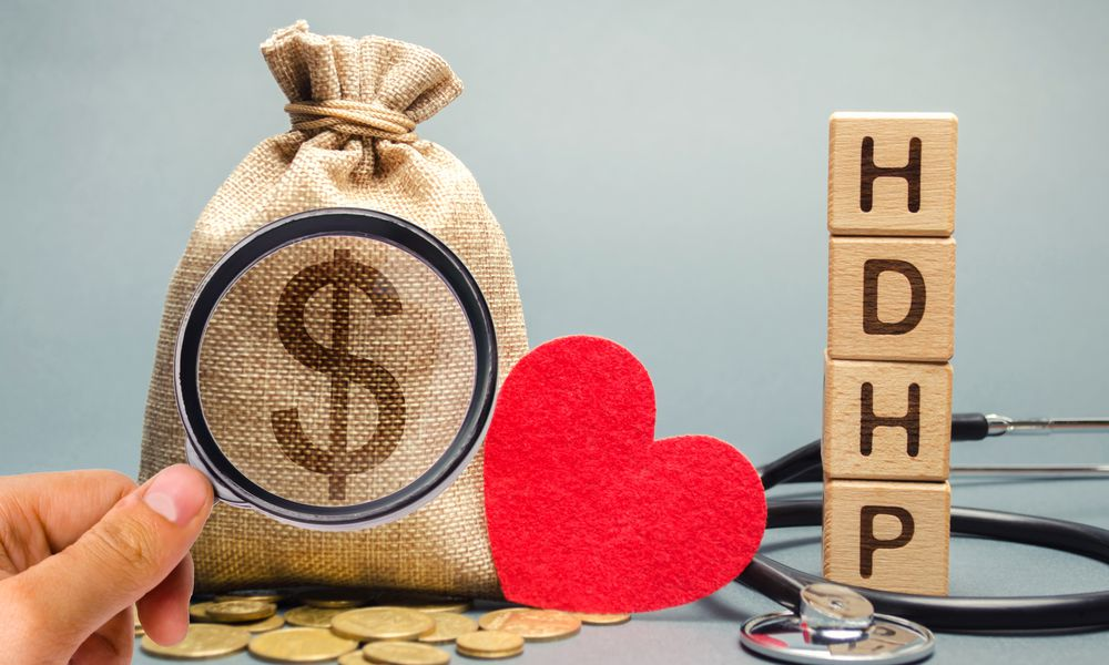 A high deductible health plan, or HDHP, is a very specific type of health plan regulated by IRS rules