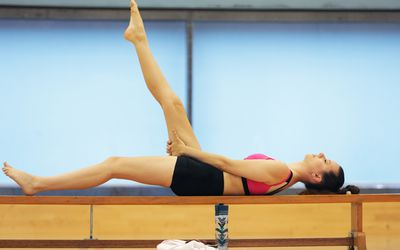 hip bridges — variations and modifications for all fitness