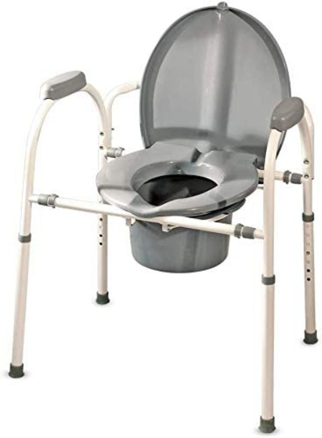 MedPro Comfort Plus Commode Chair