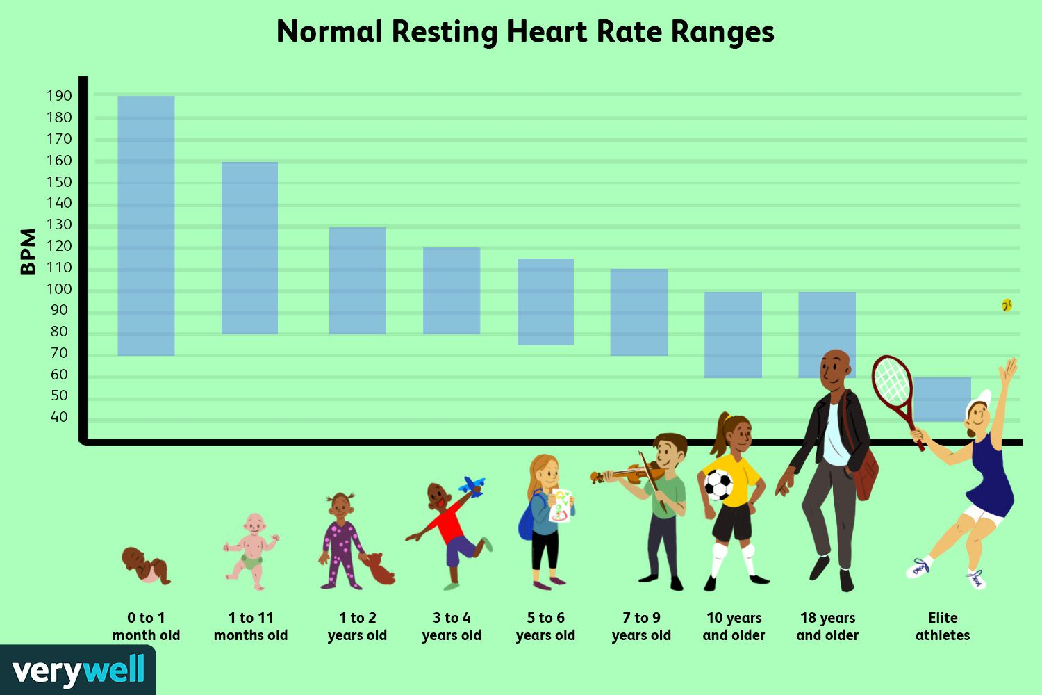 Normal Resting Heart Rate Ranges