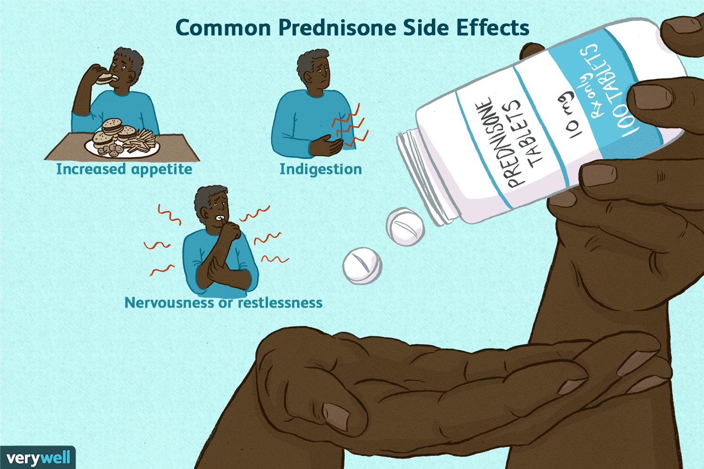 does prednisone cause headaches