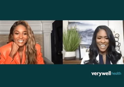 Ciara speaking with Dr. Shepherd on Zoom
