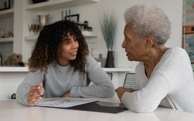 Female Financial Advisor Talking To Client
