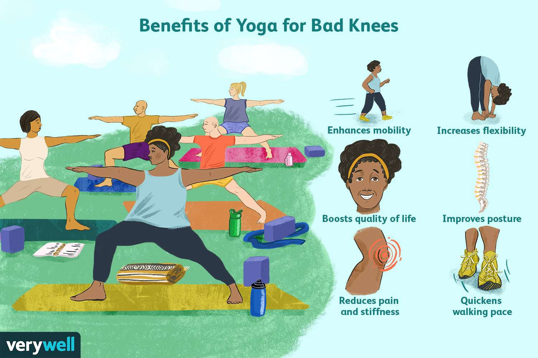 Benefits of Yoga for Bad Kneeds