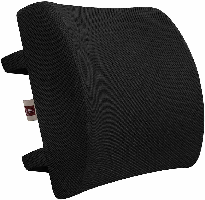 LOVEHOME Memory Foam Lumbar Support Cushion