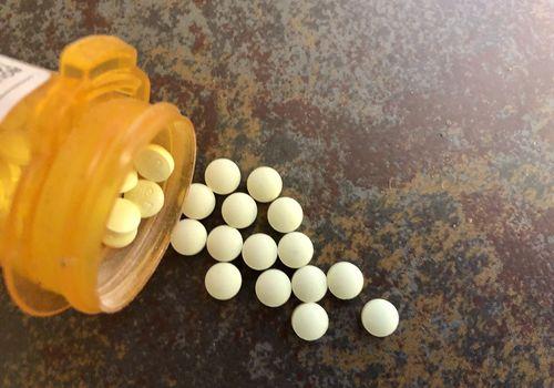 Prescription pills.