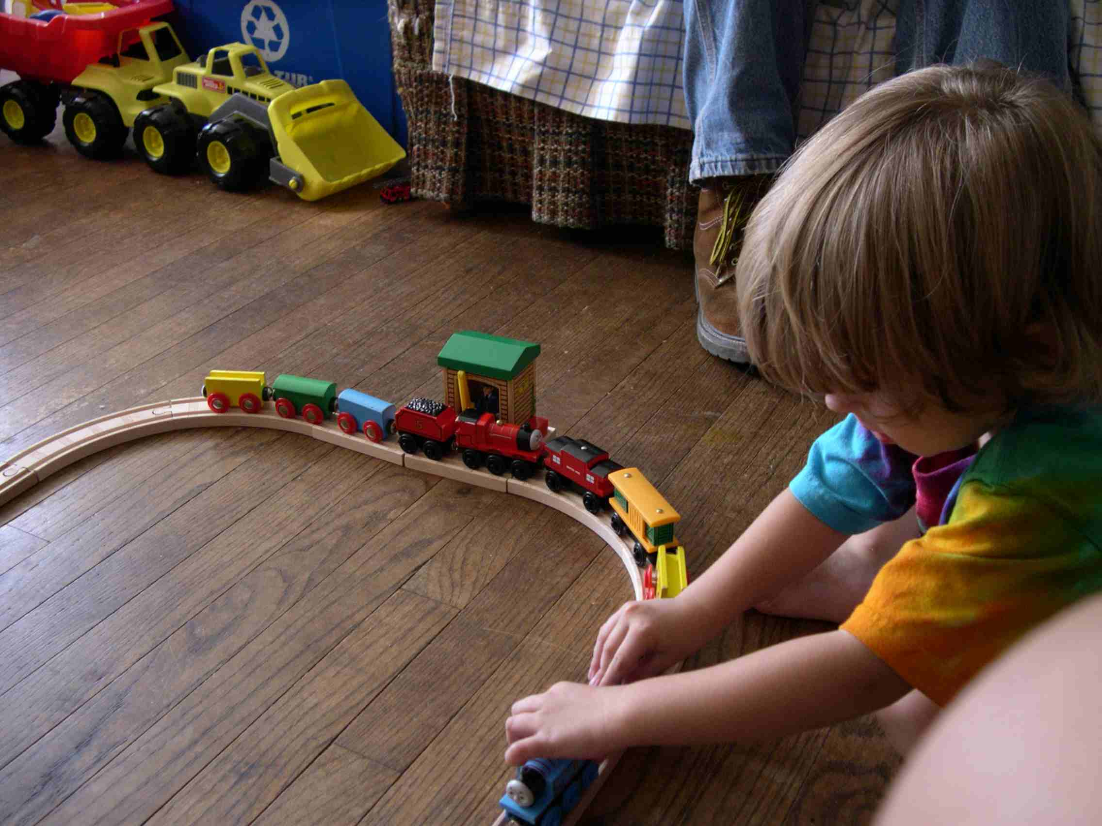 Any Toy That Relates To The Childs Special Interests Thomas Tank Engine Autism Teaching Ideas