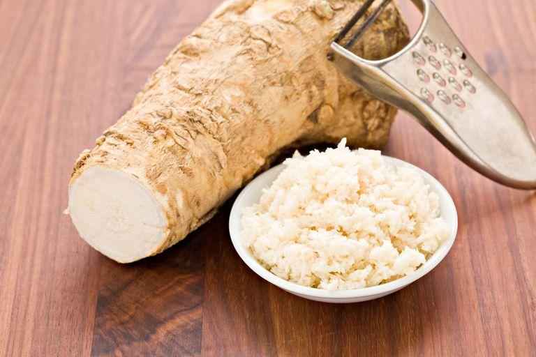 Horseradish grated