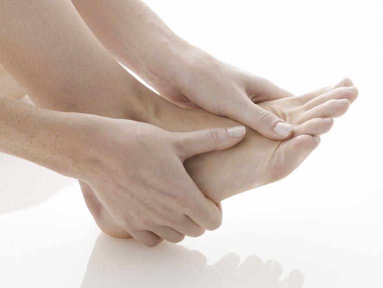 Rubbing Foot
