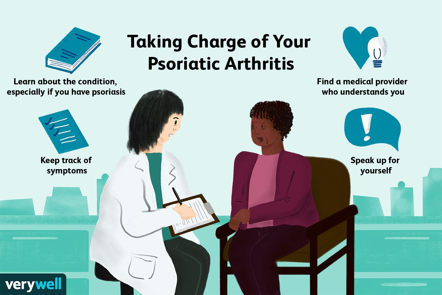 Taking Charge of Your Psoriatic Arthritis