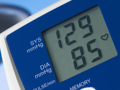 Digital blood pressure monitor (sphygmomanometer)