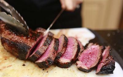 Beef, a high uric acid food