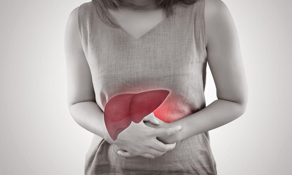 Hepatitis C in a woman